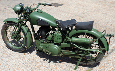 Page 48 1944 Bsa Wm20 500cc Army Motorcycle Sold 2nd