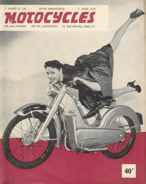 Page 65  1955 Monet Goyon Starlett Scooterette (98cc