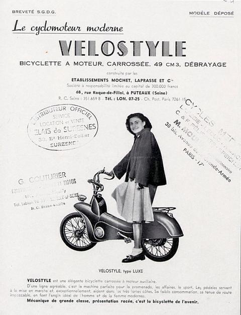 Mochet Velostyle (1949)
