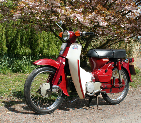 Honda 50 Model 1975 Needs a New Heart - c90 1