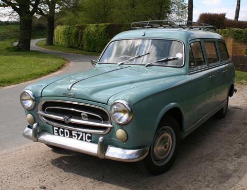 page 36. 1960 peugeot 403 'break' commerciale estate car sold