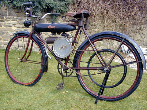 1922 Excelsior Motorbike With 119cc Cyclemotor Engine The