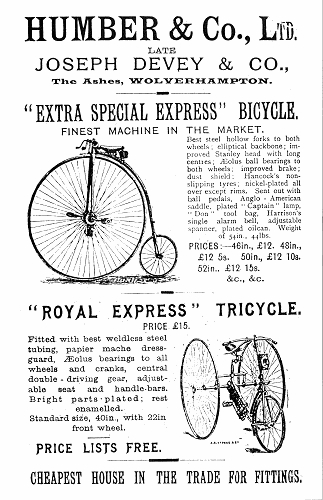 Vintage Wheel Works >> 1914 Humber Ladies Bicycle with Wall Autowheel | www.Oldbike.eu