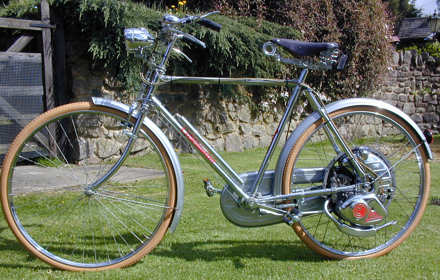 1953 Cyclemaster Comrade All-Chrome Superbe 'Boss Bike ...
