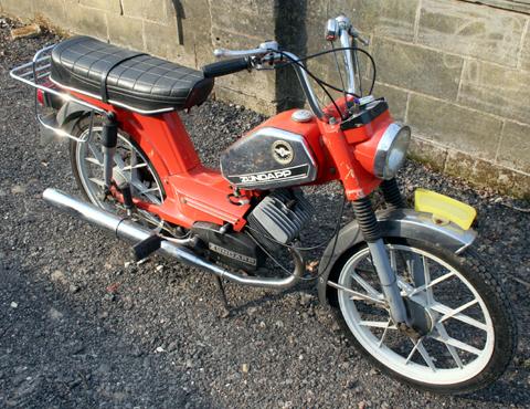 vicky scooter