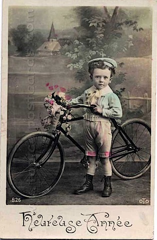 Vintage Bicycle Postcards Www Oldbike Eu