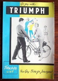 Triumph bicycle