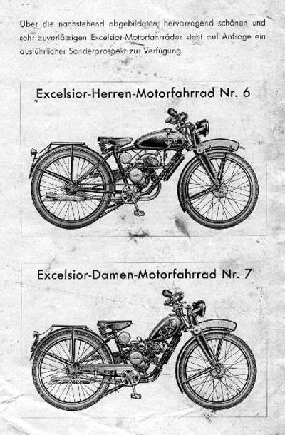 1930 excelsior triumph motorbike siegfried bettmann amp triumph