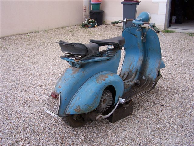 Buy Bicycle Online >> Page 160. 1952 Vespa Acma 125cc SOLD | 2nd BuyVintage Online Auction: 2015 Onwards