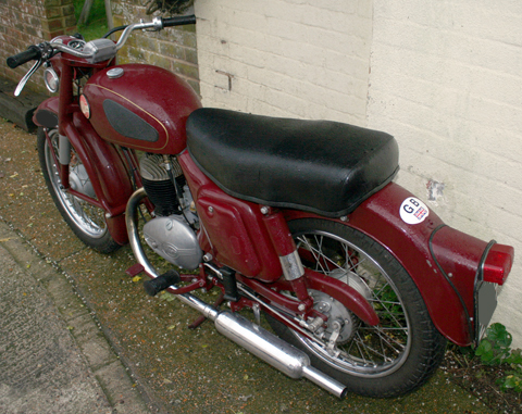 Page 192  1956 Panther Model 10/3 Villiers 197cc  SOLD | 2nd