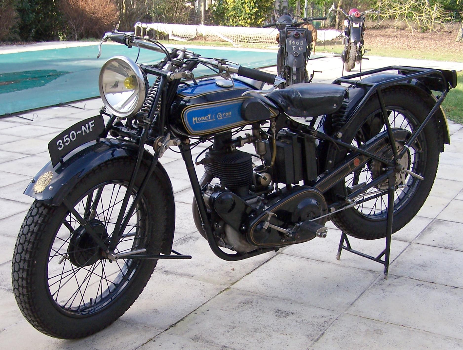 Page 602 1930 Monet Goyon Type Nf Semi Culbut 233 E 350cc
