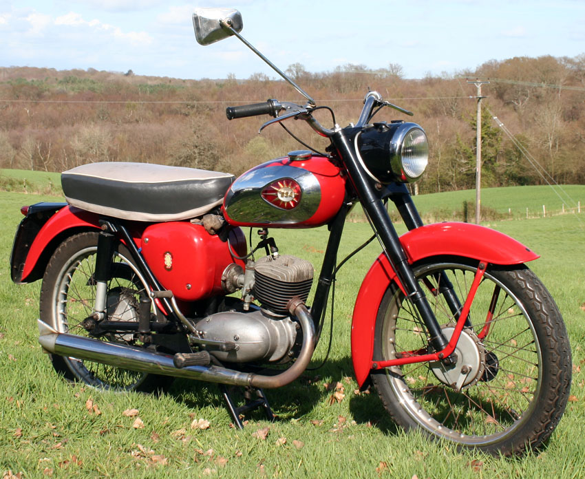 Page 609 1964 Bsa Bantam D7 175cc Sold 2nd Buyvintage