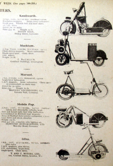 Page 615 1919 Stafford Auto Scooter Mobile Pup Engine