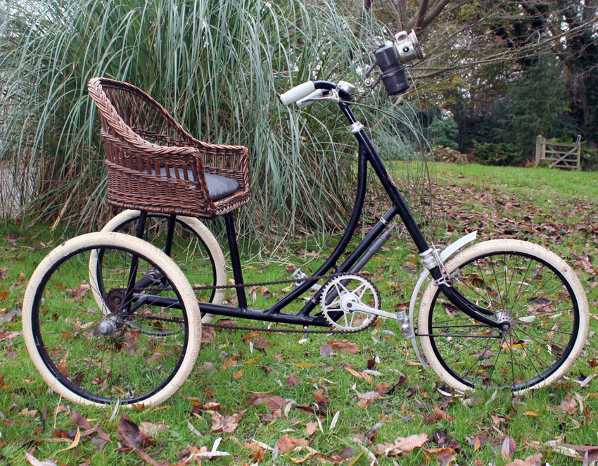 Page 352 1928 Rochet Wicker Seat Tricycle Sold 2nd