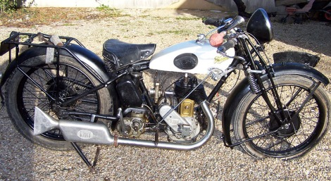 1930 Terrot 350cc
